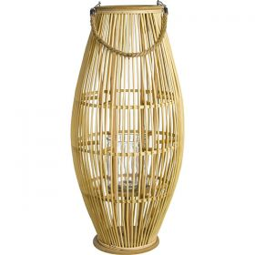 Decorative lantern candle 32 x 70 (h) cm