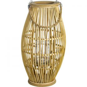 Decorative lantern candle 27 x 50 (h) cm