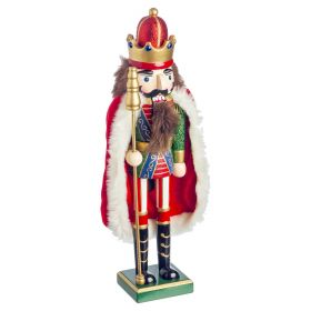 Christmas Wooden Decorative Nutcracker 38(H)cm