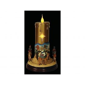 TABLE decorative candles BATTERY WITH SOUND AND MOVEMENT,30 (H) cm