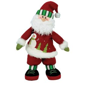 PLUSH SANTA CLAUS WITH MUSIC AND MOVEMENT 40cm