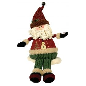 PLUSH SANTA CLAUS WITH MUSIC AND MOVEMENT 25cm
