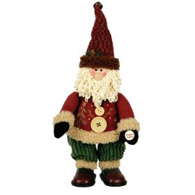 PLUSH SANTA CLAUS WITH MUSIC AND MOVEMENT 35cm
