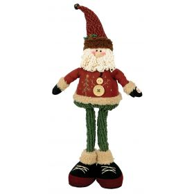 PLUSH SANTA CLAUS WITH MUSIC AND MOVEMENT 50cm