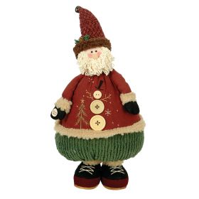 PLUSH SANTA CLAUS WITH MUSIC AND MOVEMENT 45cm