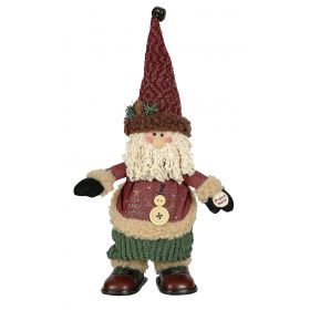 PLUSH SANTA CLAUS WITH MUSIC AND MOVEMENT 30cm