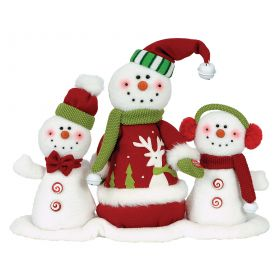 Plush Snowman MUSIC AND MOVEMENT 30cm