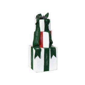 Επιτραπέζιο Χριστουγεννιάτικο Διακοσμητικό Από Φενιζόλ 31 x 31 x 77(h)cm