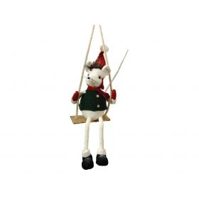 Christmas decorations mouse 20 x 15 x 78 (h) cm