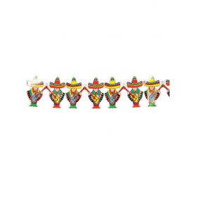 Halloween Decoration Garland Mexicans 4 Measures