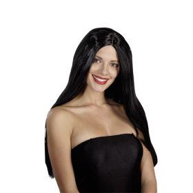 Μάυρη Αποκριάτικη Περούκα Sylvie (24