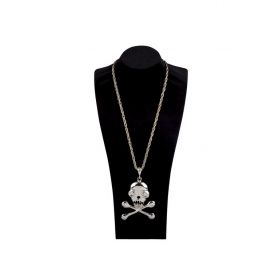 Halloween skull NECKLACE WITH chain