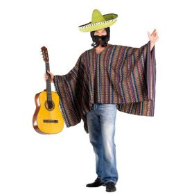 Carnival Poncho Mexican