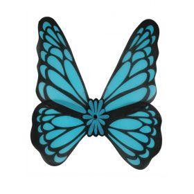 Μπλέ Αποκριάτικα Φτερά Πεταλούδας