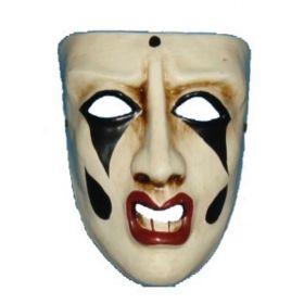 Αποκριάτικη Μάσκα Με Δάκρυ