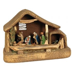 SYNTHETIC CHRISTMAS manger 45 x 23 x 30 (h) cm