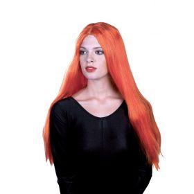 Πορτοκαλί Αποκριάτικη Περούκα 24
