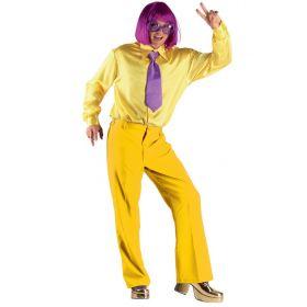 Κίτρινο Αποκριάτικο Παντελόνι