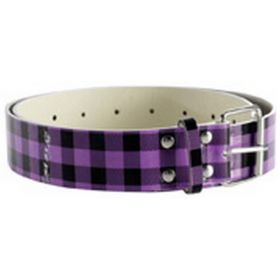 PURPLE BELT Halloween Checkerboard