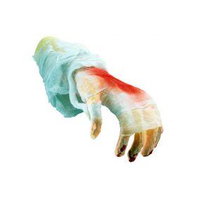 Αποκριάτικο Χέρι Με Αίμα Και Γάζα