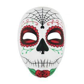 Υφασμάτινη Αποκριάτικη Μάσκα Day Of Dead
