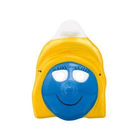 Πλαστική Αποκριάτικη Μάσκα Blue Girl
