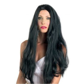Μάυρη Αποκριάτικη Περούκα 22