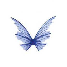 Μπλέ Αποκριάτικα Φτερά Νεράιδας