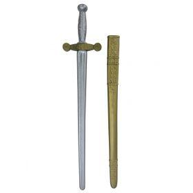 Αποκριάτικο Σπαθί Ιππότη Με Θήκη 30cm