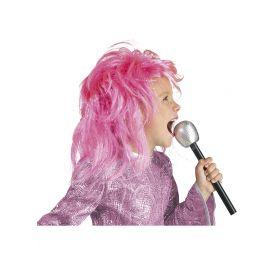 Pink Children's Halloween Wig Diva