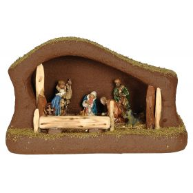 SYNTHETIC CHRISTMAS manger 45 x 23 x 50 (h) cm