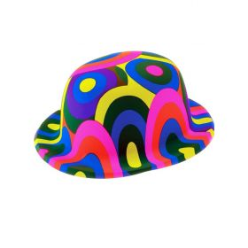 Πλαστικό Αποκριάτικο Καπέλο Κλόουν