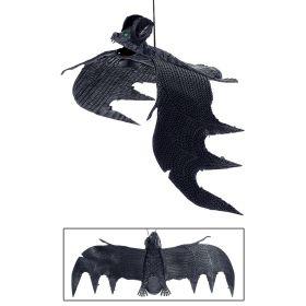 Διακοσμητική Αποκριάτικη Νυχτερίδα 29cm