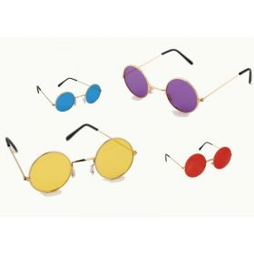 Round Halloween Glasses 4 Colors