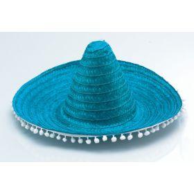 Ψάθινο Αποκριάτικο Καπέλο Μεξικάνου 50cm