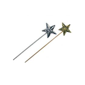 Carnival STICK WITH asterisk POULIES,2 COLORS,SOLD BY COLOR