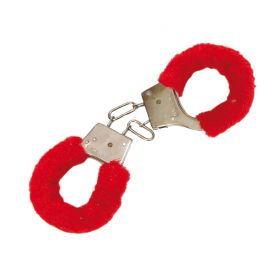 Carnival Handcuffs On Red fur