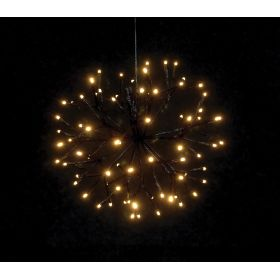 illuminated LED CHRISTMAS BALL WITH 80LED AND TRANSFORMER IP44,30cm