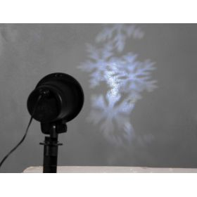 Led Projector - Projector With Effects Snowflake,ip44 based
