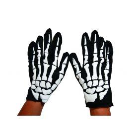 Αποκριάτικα Γάντια Σκελετού