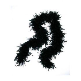 Μάυρο Αποκριάτικοπ Μπόα ,70gr ,2 Μέτρα