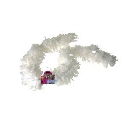 Λευκό Αποκριάτικοπ Μπόα ,70gr ,2 Μέτρα