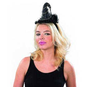 Αποκριάτικη Στέκα Με Καπέλο Μάγισσας