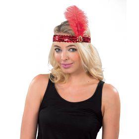 Κόκκινο Αποκριάτικο Καπέλο Τσάρλεστον