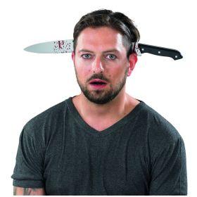 Αποκριάτικη Στέκα Μαχαίρι Με Αίμα 45cm