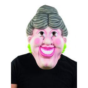 Μεγάλη Αποκριάτικη Μάσκα Γιαγιά 44cm