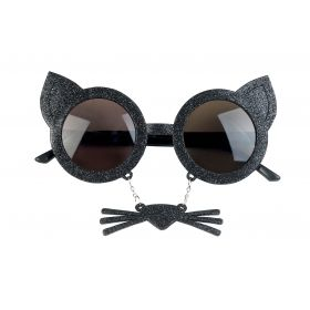 Αποκριάτικα Γυαλιά Γάτας Με Μουστάκι