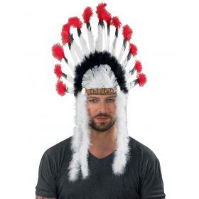 Αποκριάτικο Καπέλο Αρχηγού Ινδιάνου 75cm