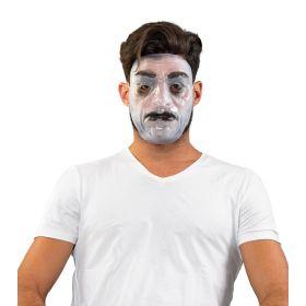 Διάφανη Φωσφοριζέ Αποκριάτικη Μάσκα