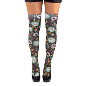 Αποκριάτικες Κάλτσες Με Νεκροκεφαλές